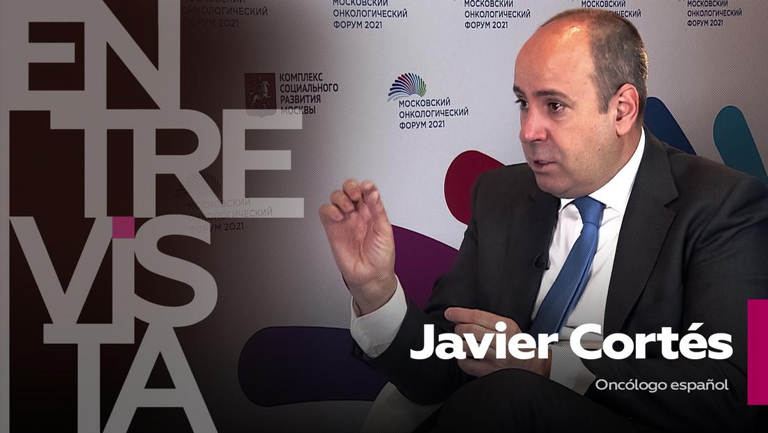 """Javier Cortés, oncólogo español: """"El desarrollo de vacunas contra el coronavirus puede reabrir la visión de las vacunas contra el cáncer"""""""