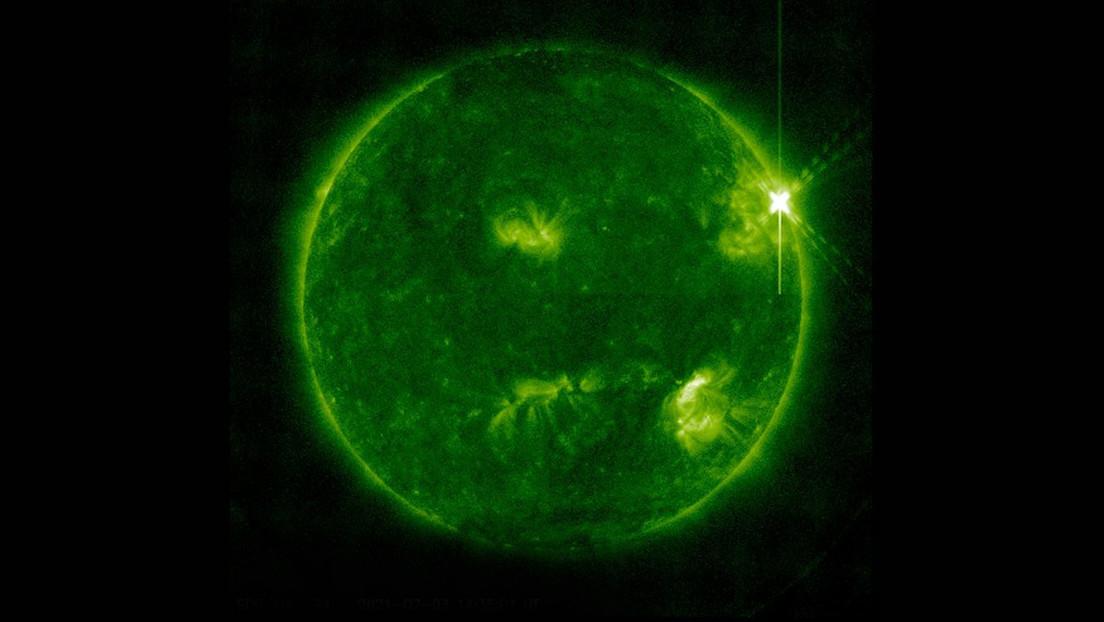 Una poderosa llamarada solar de clase X alcanza la Tierra por primera vez en cuatro años (VIDEO)