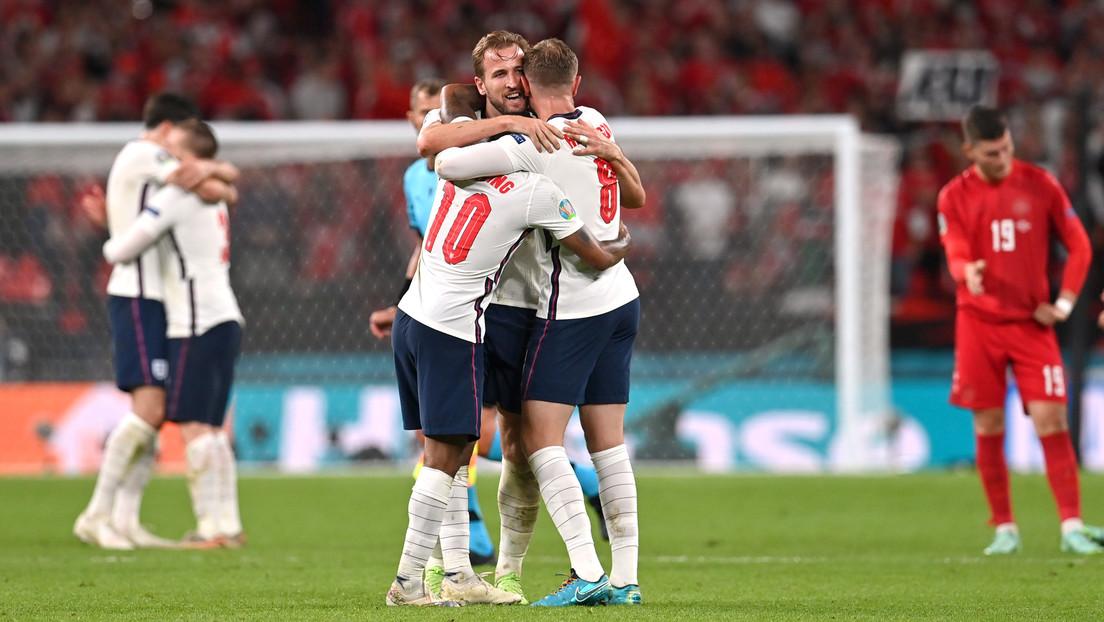 Inglaterra gana a Dinamarca y se clasifica para la final de la Eurocopa de fútbol por primera vez en su historia