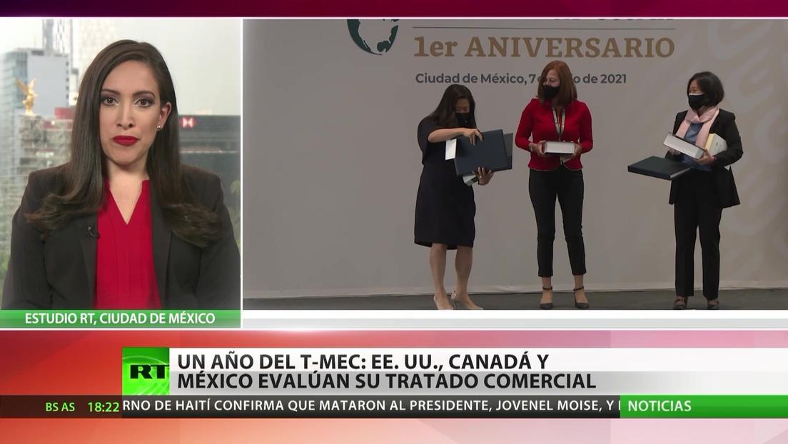 Un año del T-MEC: EE.UU., Canadá y México evalúan su tratado comercial
