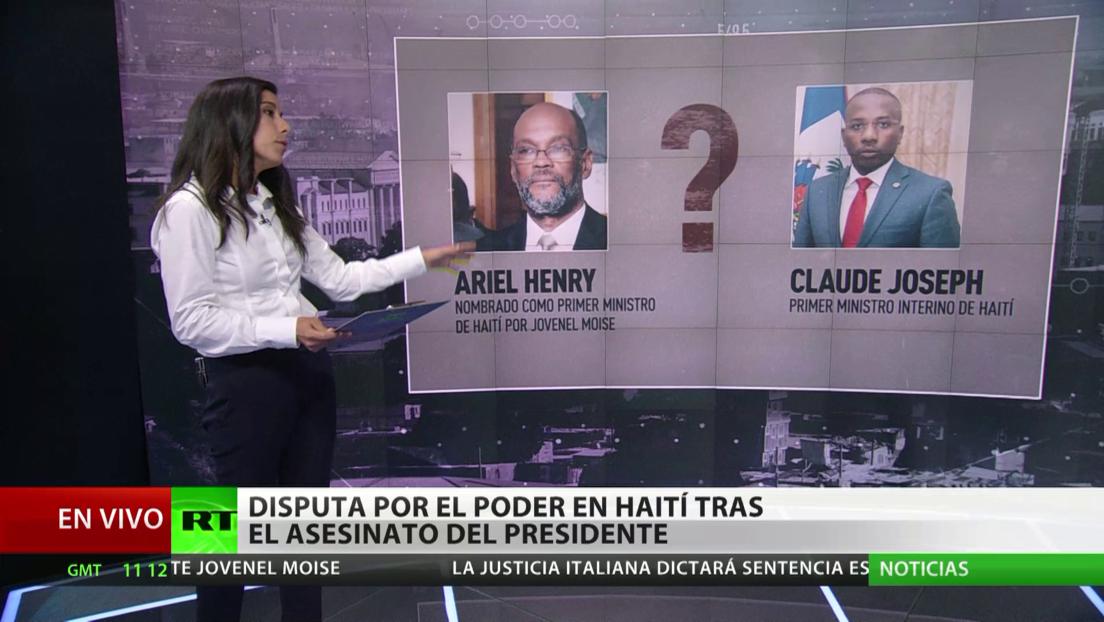 Disputa por el poder en Haití tras el asesinato del presidente, Jovenel Moïse
