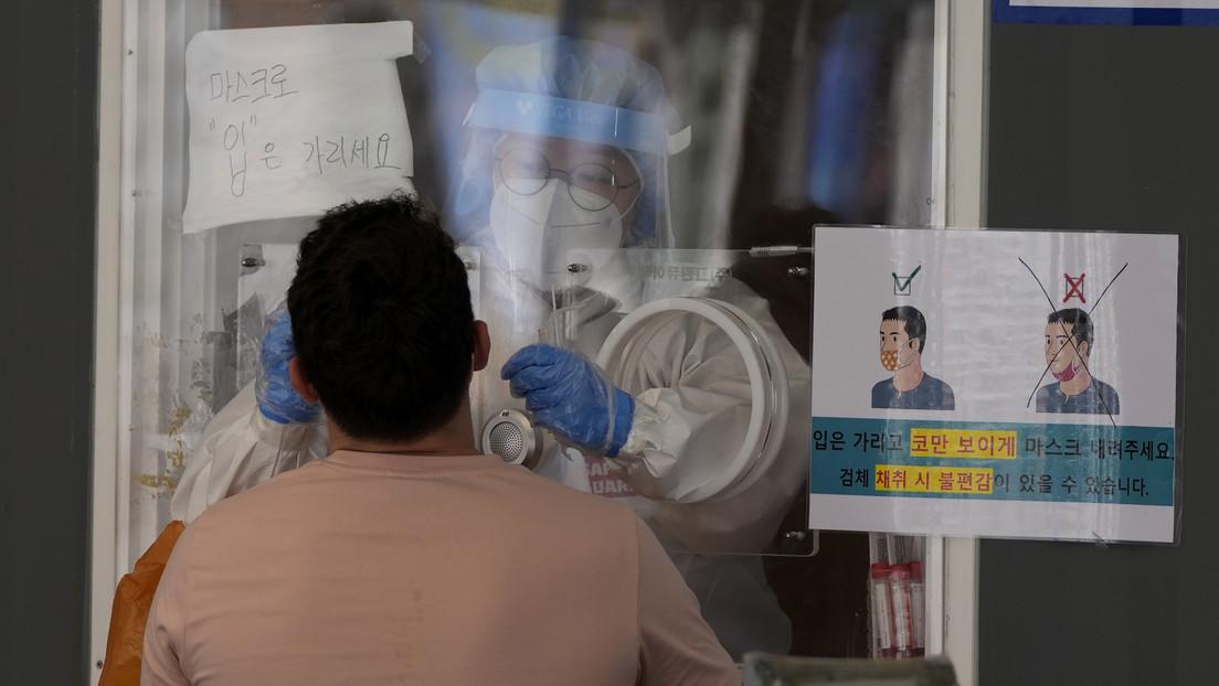 Corea del Sur registra un nuevo récord de contagios de coronavirus por la expansión de la variante Delta