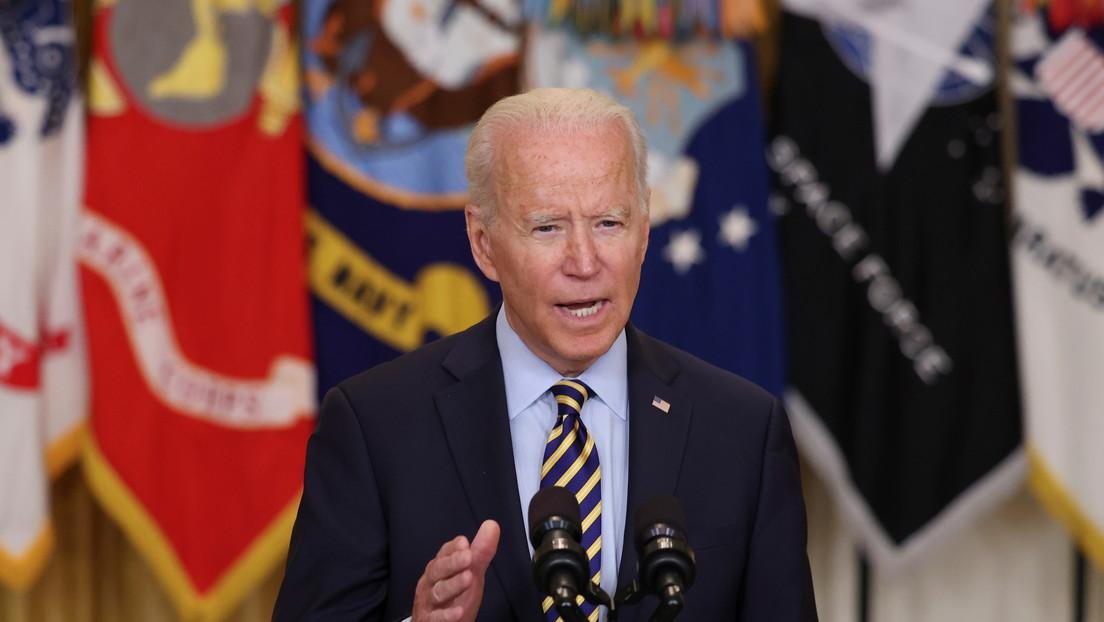 """""""EE.UU. no llegó para construir una nación"""": Biden anuncia que la misión en Afganistán terminará el 31 de agosto"""