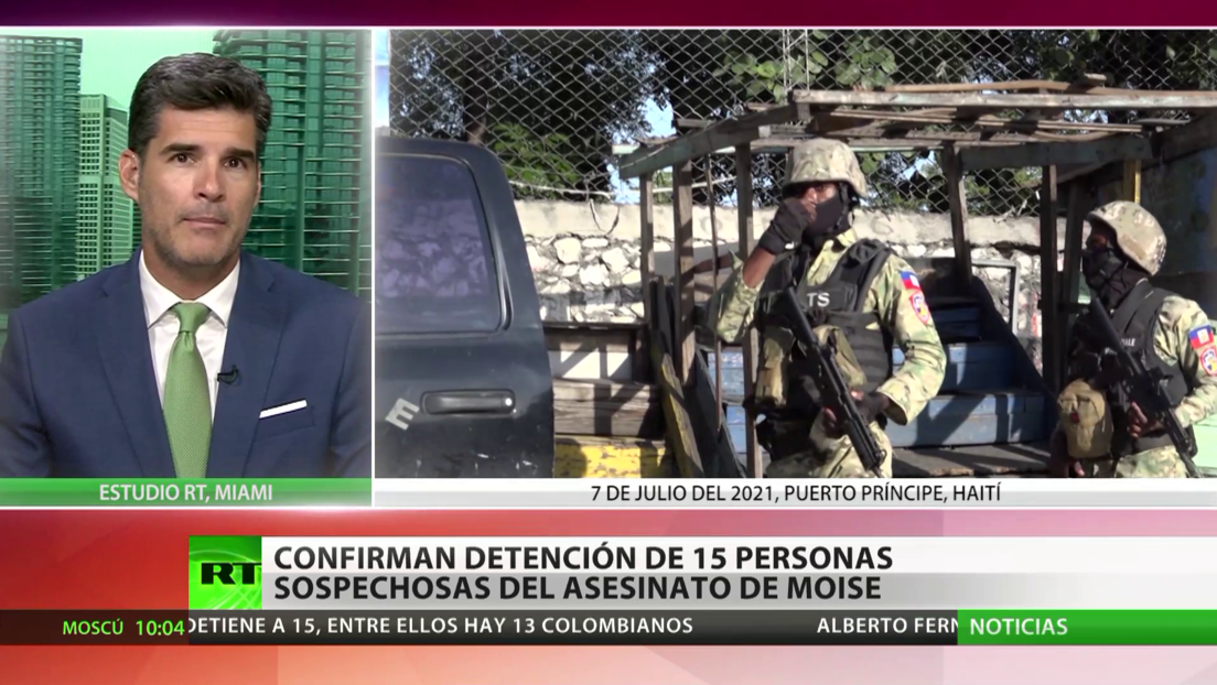Confirman la detención de 15 personas sospechosas del asesinado del presidente Jovenel Moïse