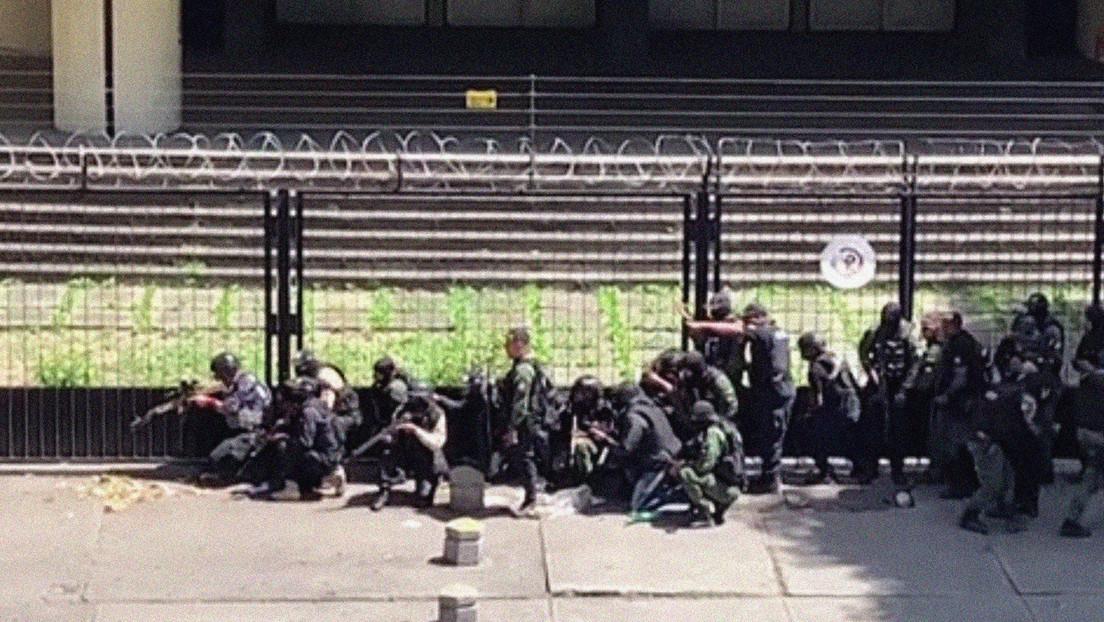 Despliegan los cuerpos de seguridad en Caracas en medio de intensas balaceras de la banda criminal del 'Coqui'