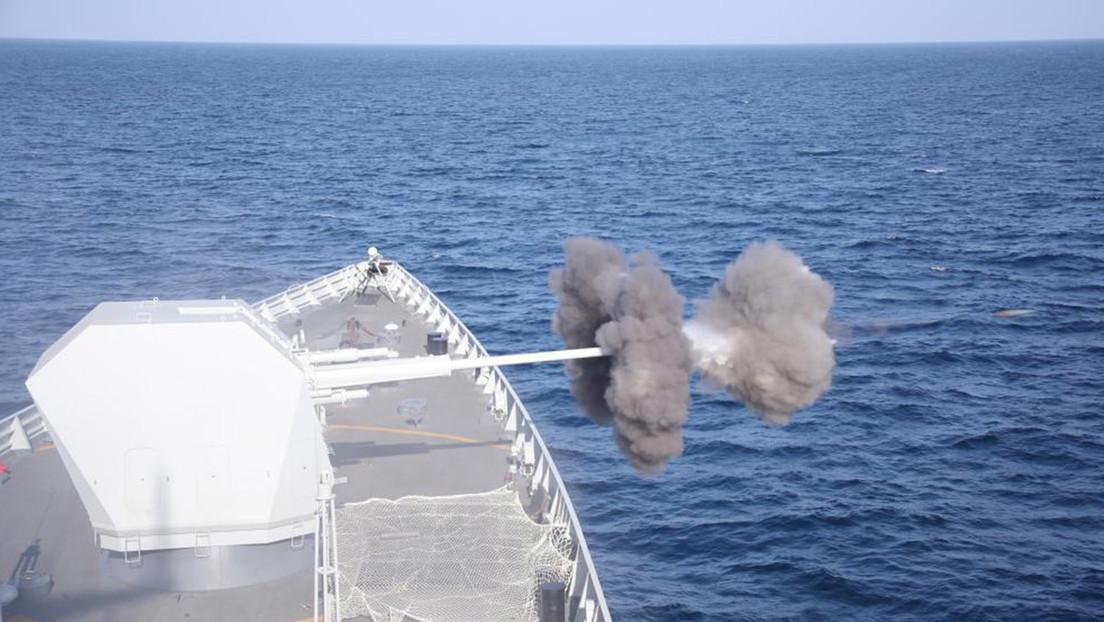 China cierra una zona del mar Amarillo para realizar simulacros militares a gran escala