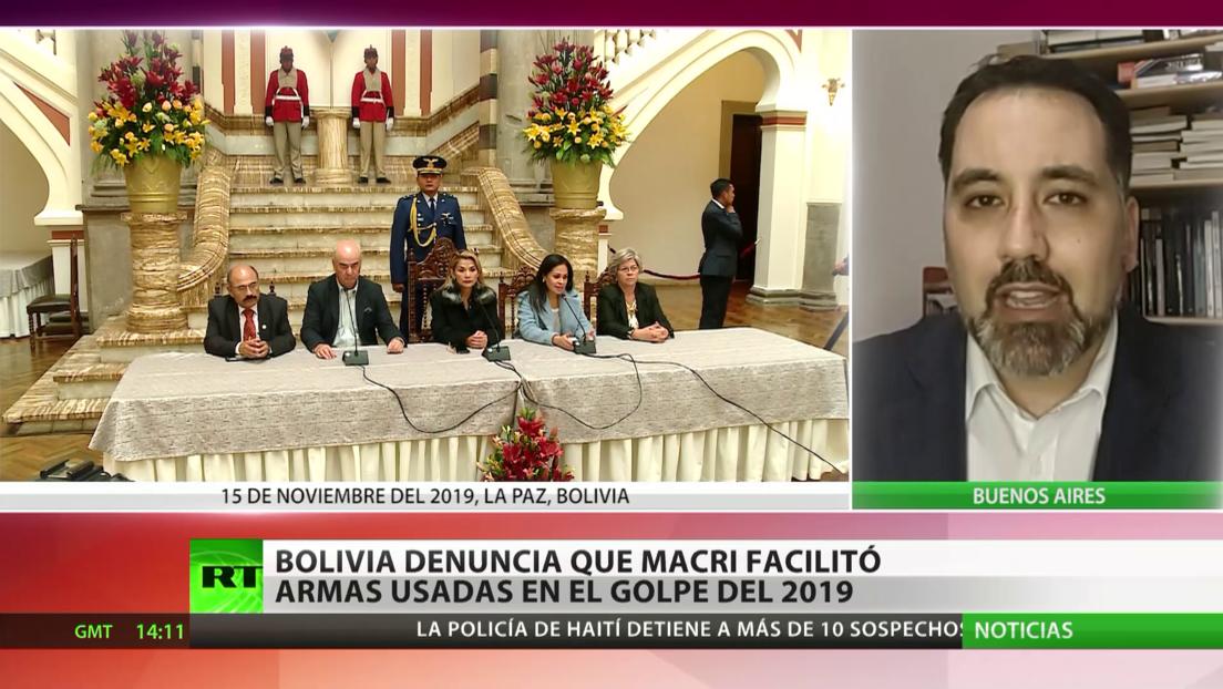 Bolivia denuncia que Macri facilitó armas para usarlas en el golpe de Estado de 2019