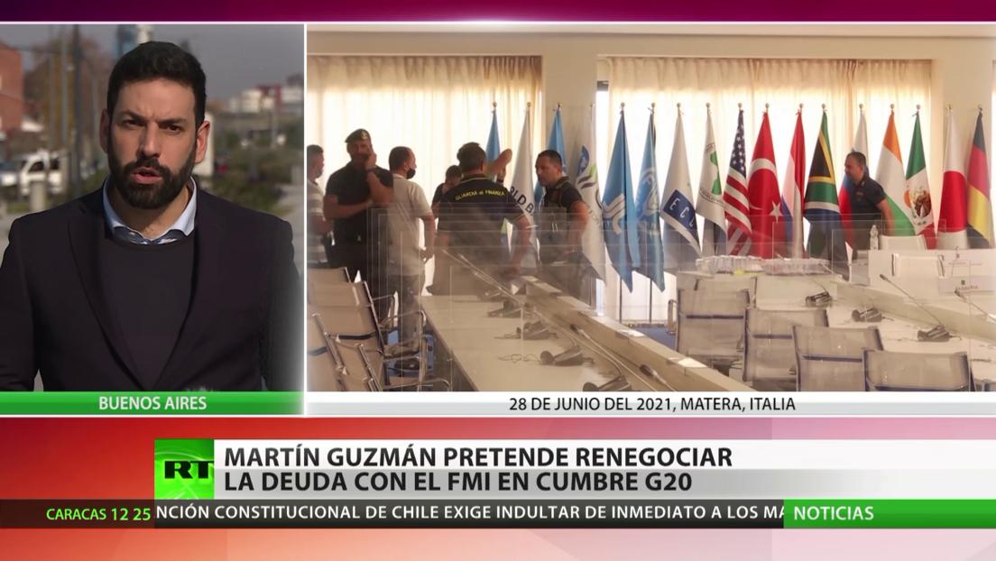 El ministro de Economía de Argentina busca renegociar la deuda con el FMI en la cumbre del G20
