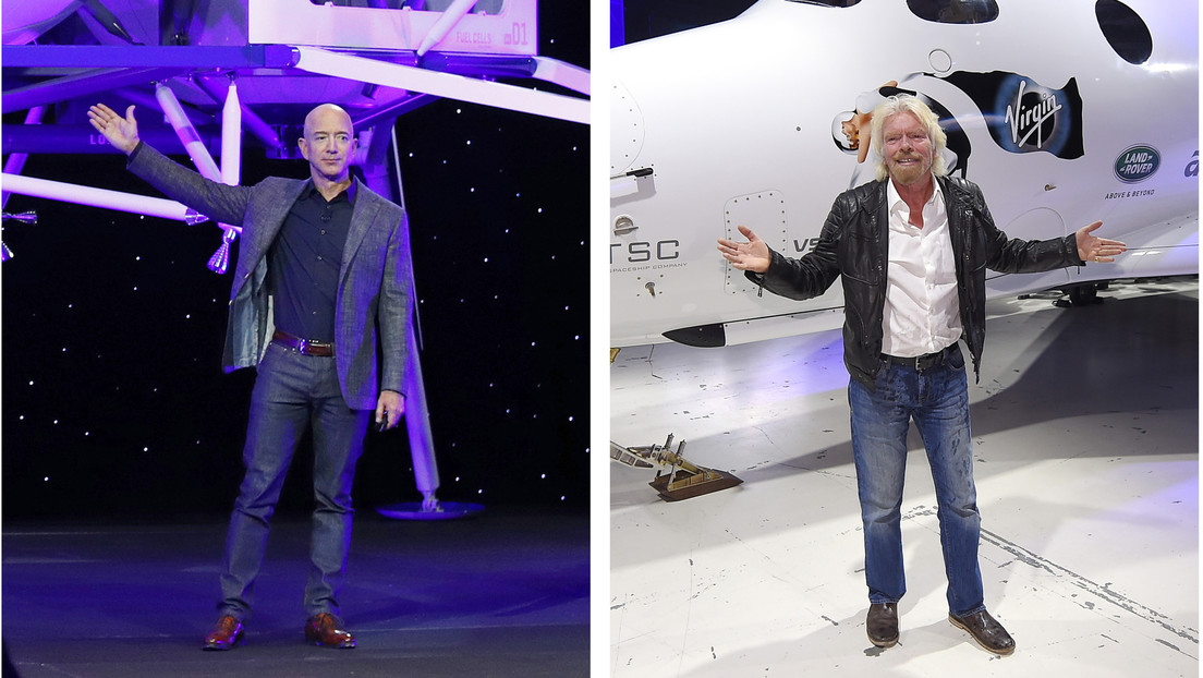 Billionaires's rivalry: Bezos Blue Origin believes Branson's trip to Virgin Galactic will not be counted as a space flight