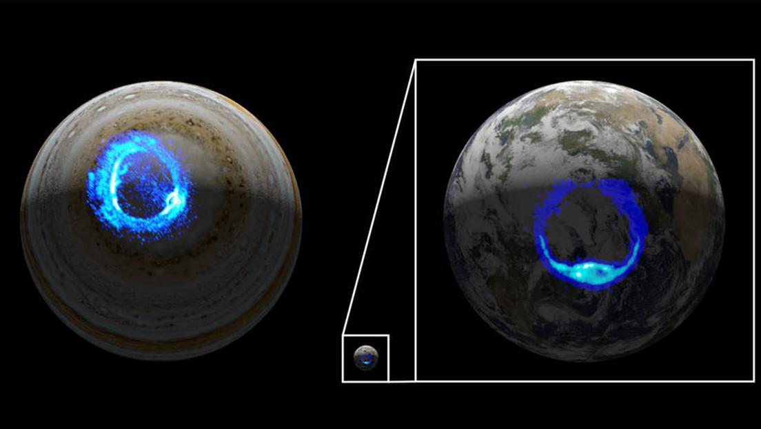 Resuelven el misterio de 40 años de las constantes auroras polares de rayos X de Júpiter