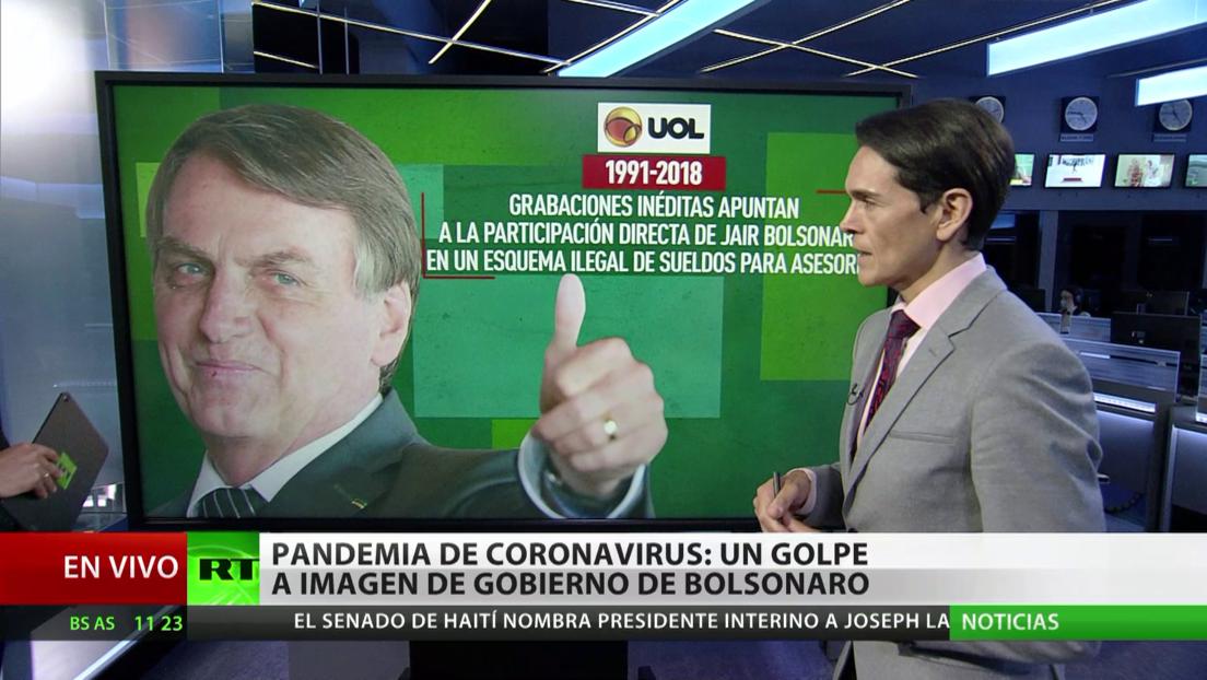 Pandemia del coronavirus: Un golpe a la imagen del Gobierno de Jair Bolsonaro