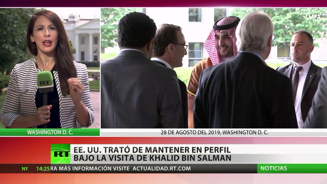 EE.UU. trató de mantener en perfil bajo la visita de viceministro de Defensa de Arabia Saudita