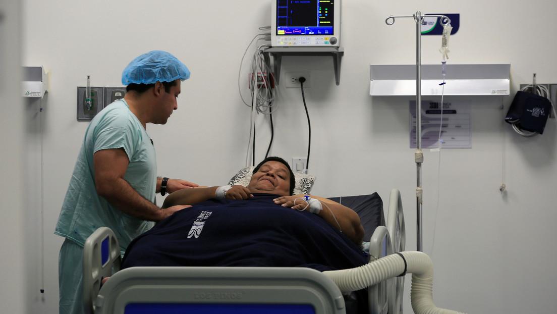 Un hombre con obesidad extrema se opera en España para perder 200 kilos