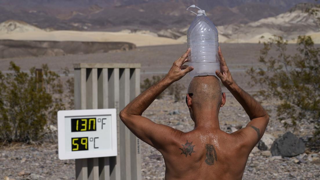 El Valle de la Muerte alcanza los 54,4 grados Celsius, muy cerca del récord mundial
