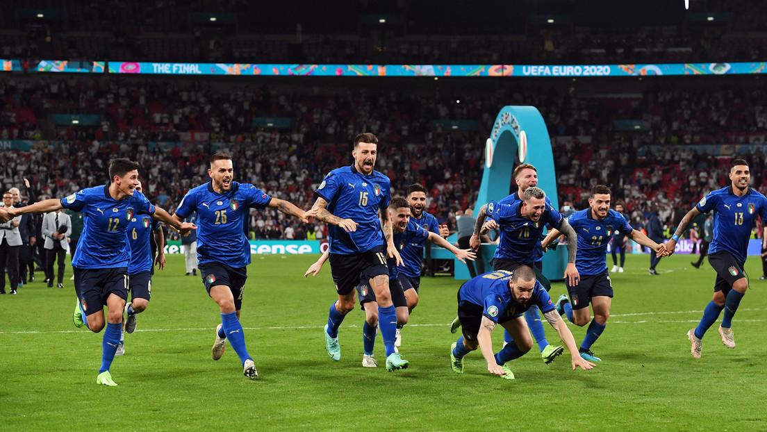 Italia vence a Inglaterra en la final y gana su segunda Eurocopa 53 años después