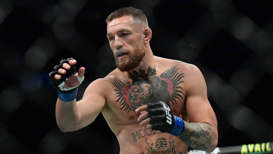 VIDEO: Momento en que Conor McGregor se fractura una pierna y pierde por TKO en su pelea ante Dustin Poirier