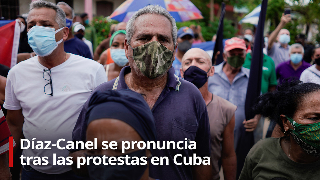 "Díaz-Canel acusa a EE.UU. de aplicar ""una política de asfixia económica"" para provocar ""estallidos sociales"""