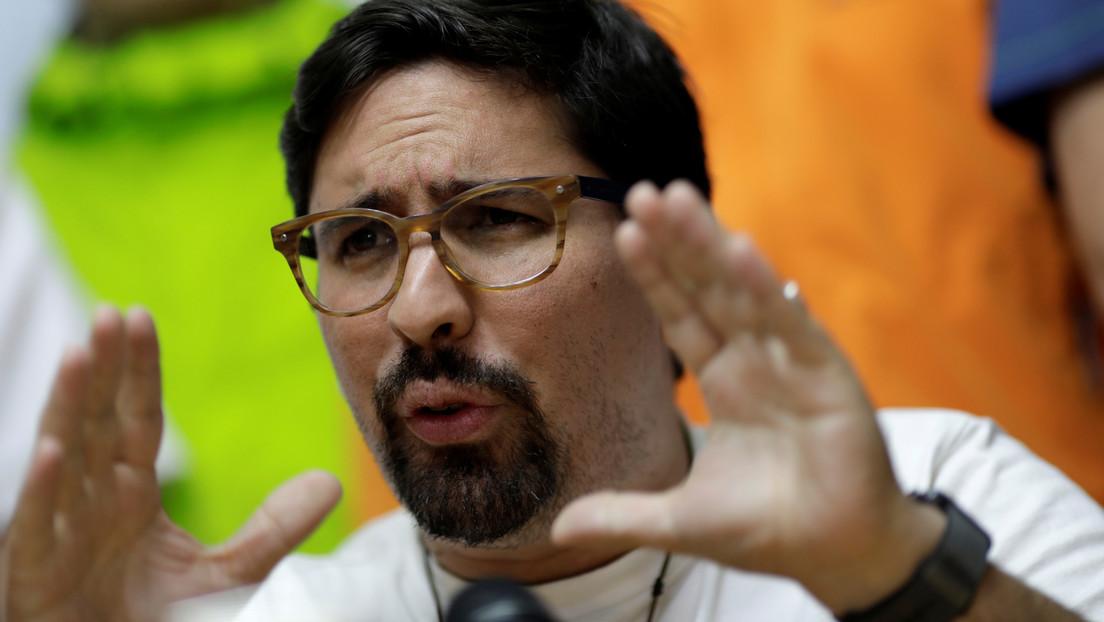 """Detienen en Venezuela al exdiputado Freddy Guevara por su vinculación a """"grupos extremistas asociados al gobierno colombiano"""""""