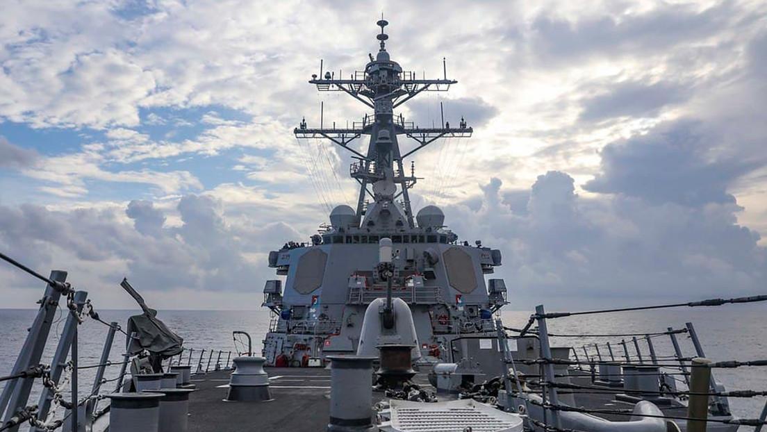 """Die USA bestätigen, dass ihr Kriegsschiff in das Südchinesische Meer eingedrungen ist, um Pekings Ansprüche auf die Gewässer der Region """"anzufechten"""""""
