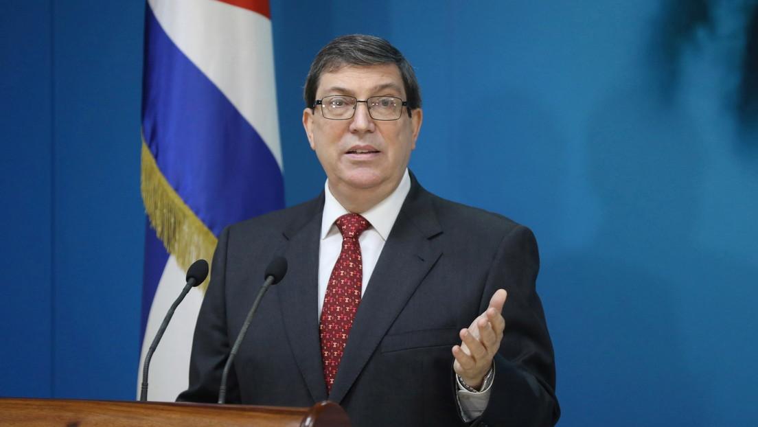 El canciller de Cuba acusa al Departamento de Estado y a USAID de financiar a la empresa que desencadenó la campaña mediática contra la isla