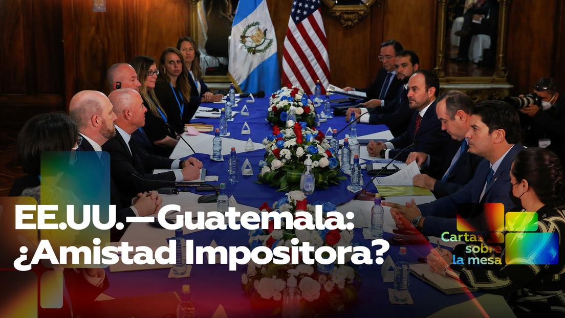 EE.UU.—Guatemala: ¿Amistad Impositora?