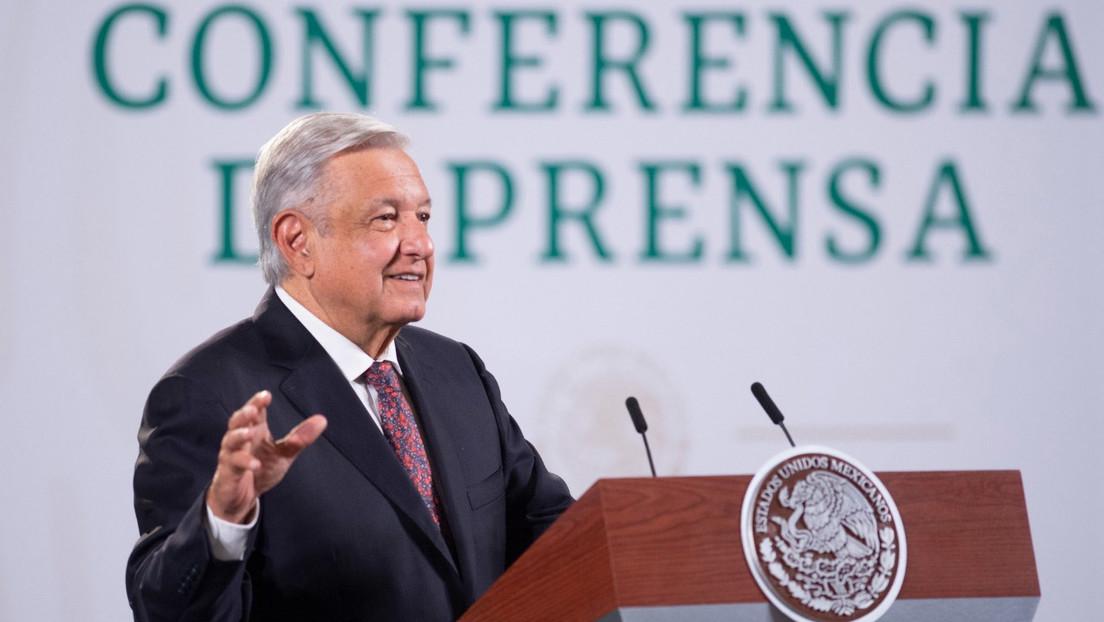 """López Obrador critica la """"difusión inusual"""" de los medios sobre las protestas en Cuba (VIDEO)"""