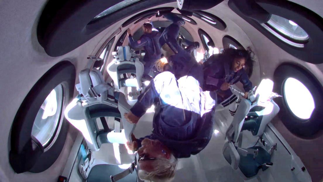 Virgin afirma que 'Los Simpson' predijeron el vuelo al espacio de Richard Branson, y muestra la evidencia (FOTO)