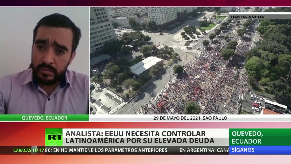 Analista opina que EE.UU. necesita controlar a Latinoamérica por la elevada deuda de la región