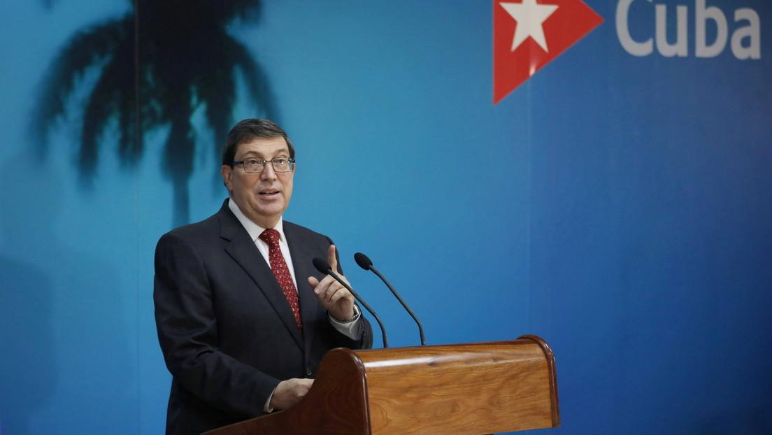 """Cuba acusa a EE.UU. de ejecutar una """"operación comunicacional de alta envergadura"""" para reforzar el bloqueo contra la isla"""