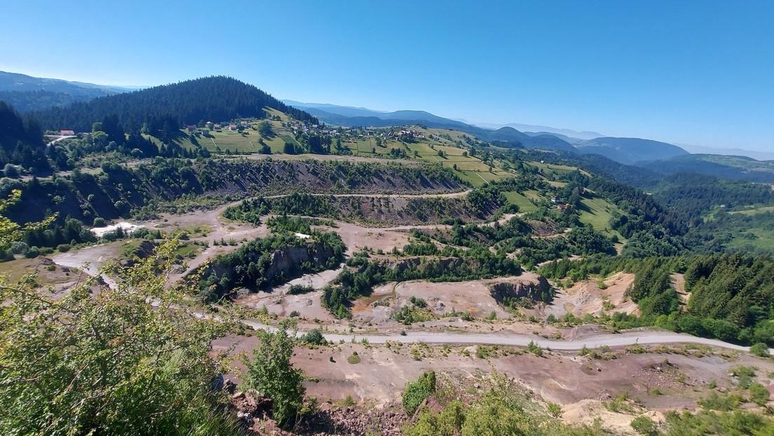 Reabren tras cerca de 30 años una 'mina zombi' en los Balcanes en medio del alza del precio de los metales