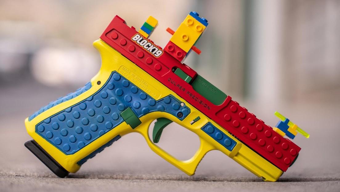 Una pistola que parece estar hecha de bloques Lego desata la polémica en EE.UU.