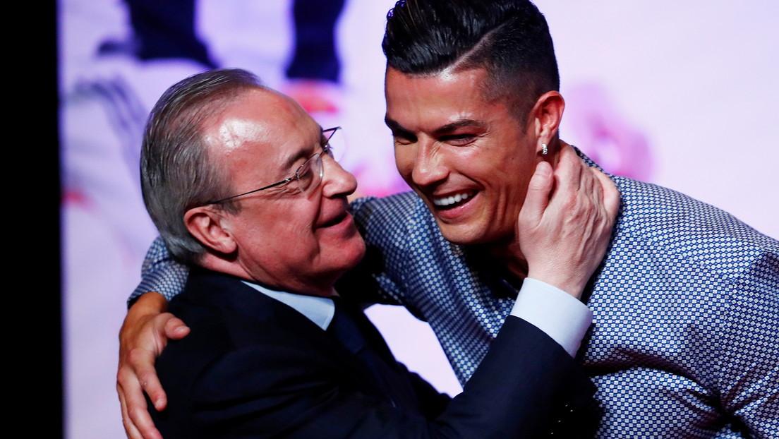 """""""Este tío es un imbécil"""": revelan nuevas conversaciones de Florentino Pérez en las que descalifica a Cristiano Ronaldo"""