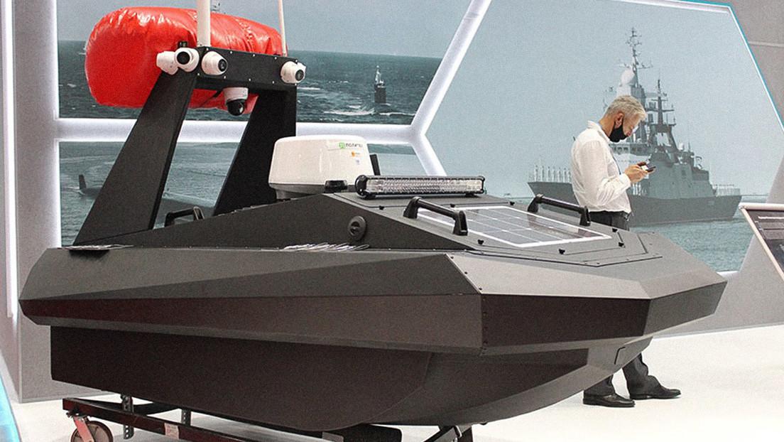 VIDEO: Rusia desarrolla un dron naval diseñado para perseguir furtivos, patrullar y escanear aguas superficiales