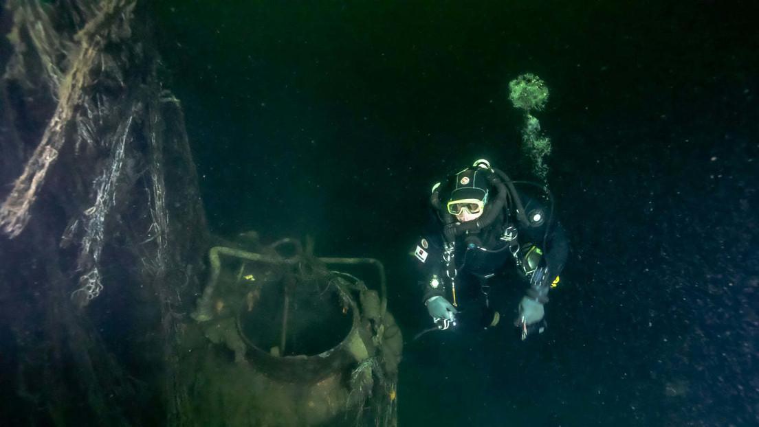 FOTOS: Hallan el último submarino soviético desaparecido en el golfo de Finlandia durante la Segunda Guerra Mundial