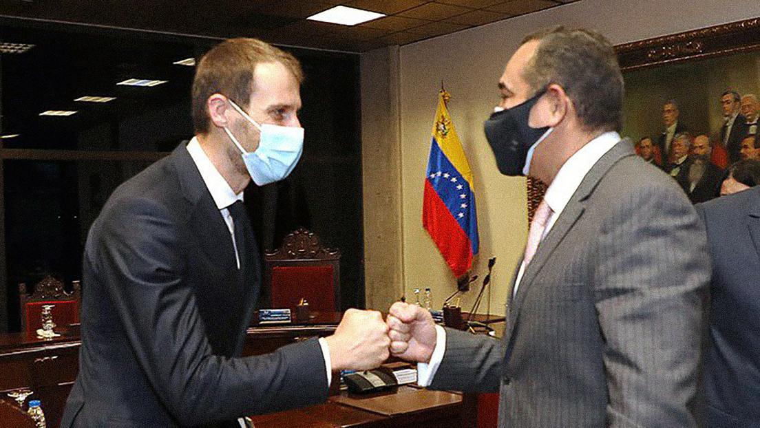 Supremo de Venezuela se reúne con la comisión de la UE en Caracas para ratificar su rol garantista del orden constitucional