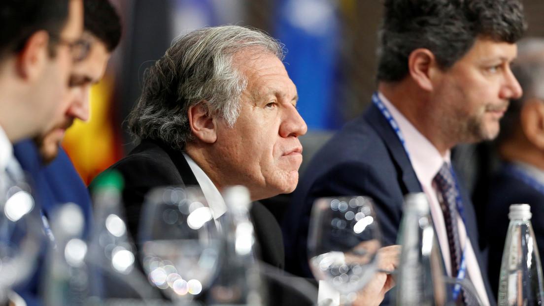 """""""Gravísima impostura"""": Almagro pide un minuto de silencio por caídos en las masacres de Senkata y Sacaba y el embajador de Bolivia en la OEA responde"""