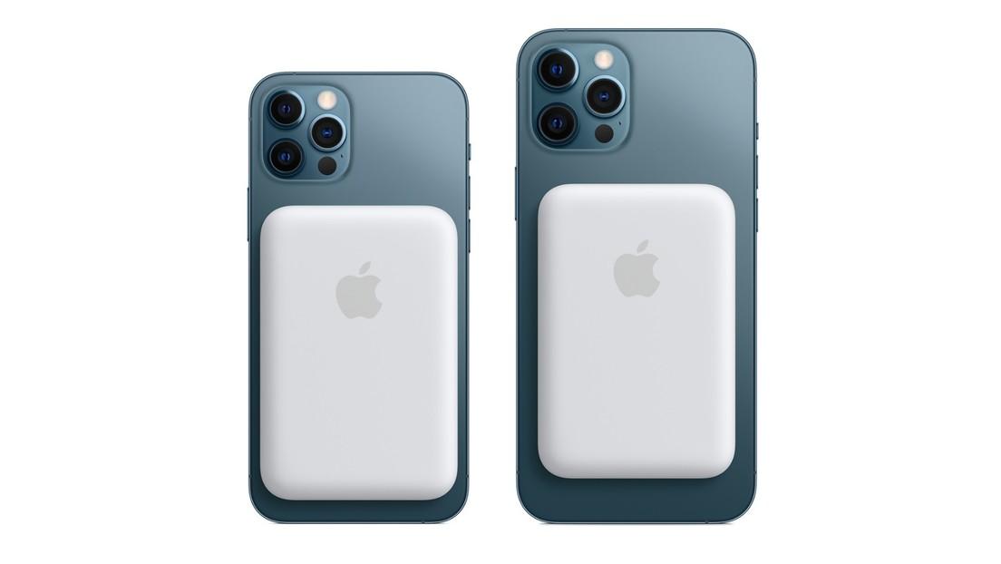 Apple lanza para los iPhone 12 una batería portátil de carga por inducción que se sujeta magnéticamente a los teléfonos