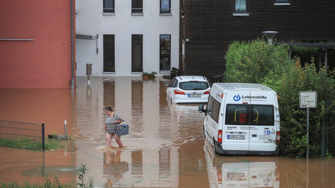 Fuertes tormentas en Alemania dejan al menos 58 muertos, casas colapsadas por las inundaciones y decenas de desaparecidos
