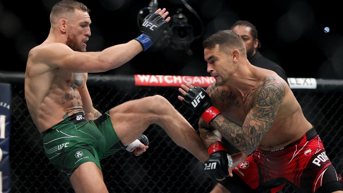 VIDEO: El entrenador de McGregor indica el momento preciso en que el luchador se fracturó la pierna en su combate con Poirier
