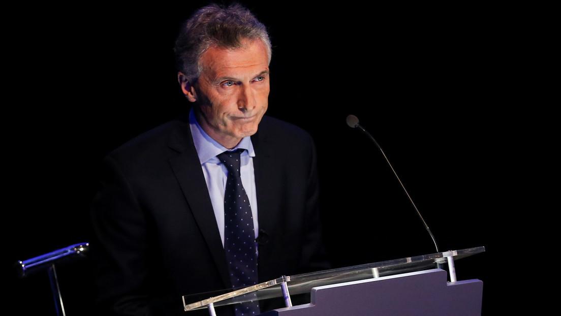 El expresidente argentino Mauricio Macri.