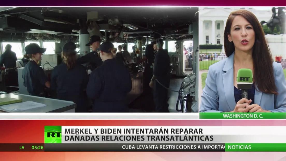 Merkel y Biden intentan reparar las dañadas relaciones transatlánticas