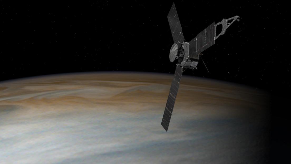 La NASA publica una impresionante animación del vuelo de la nave Juno sobre Ganímedes y Júpiter (VIDEO)