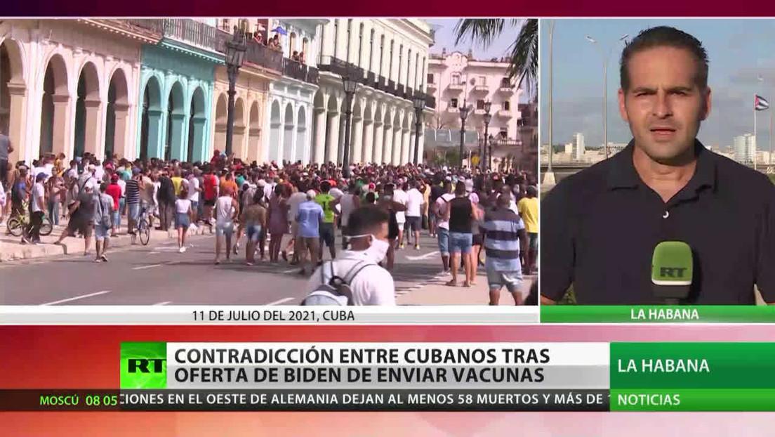 ¿Flaco favor? Joe Biden ofrece vacunas e Internet a Cuba