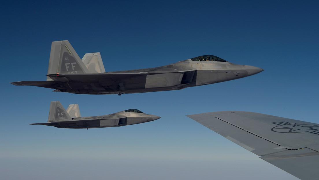 Inmitten der Spannungen mit China schicken die USA eine Rekordzahl von 25 Kampfflugzeugen in den Pazifik.