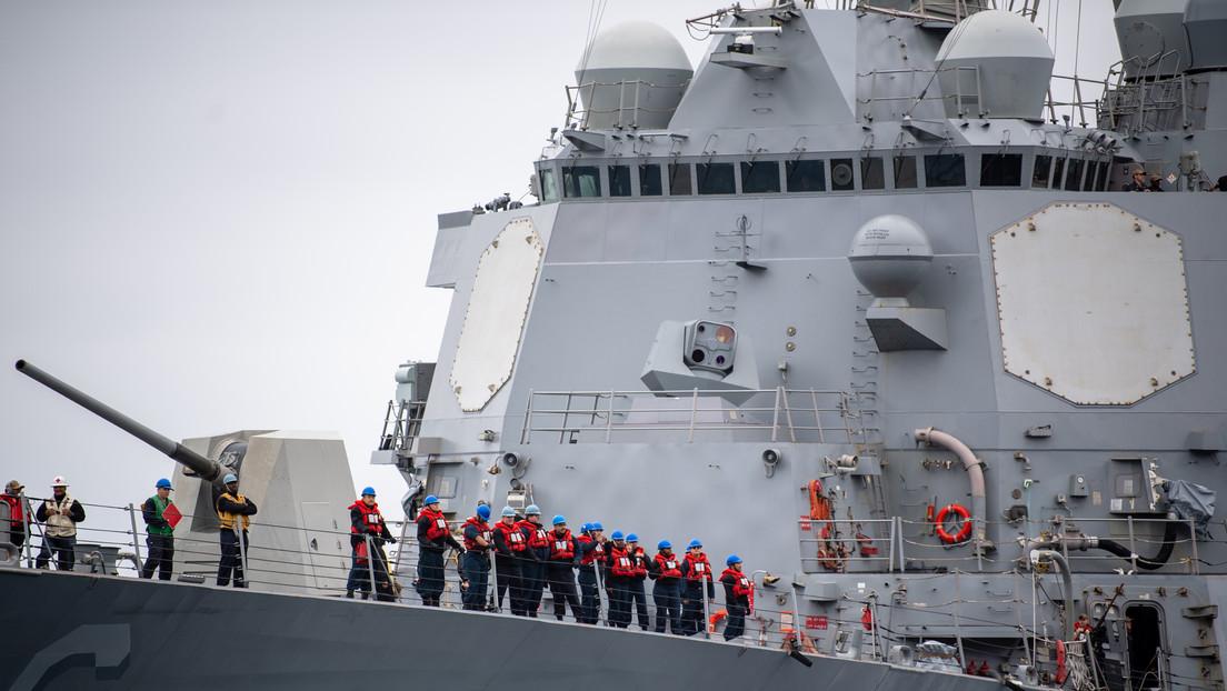 FOTO: La Marina de EE.UU. revela la mejor vista hasta el momento de su nuevo sistema láser-cegador de misiles