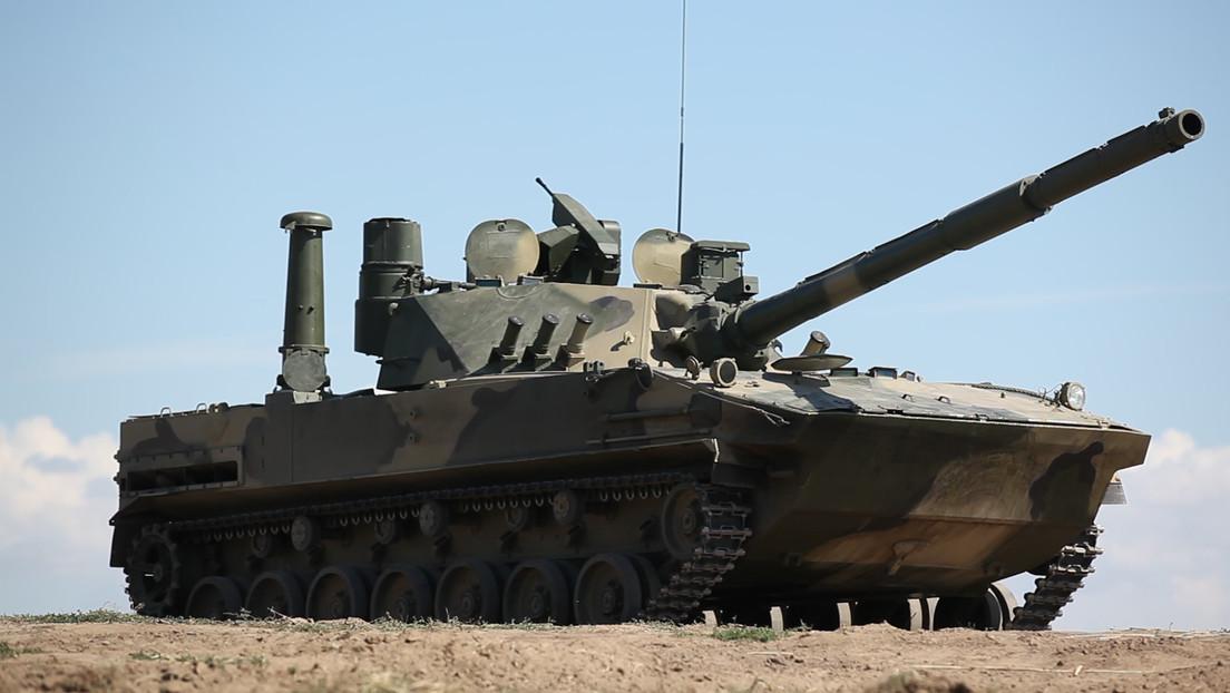 VIDEO: Potente tanque anfibio ligero de Rusia realiza pruebas de navegación en el mar Negro