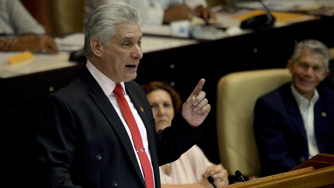 """Díaz-Canel: """"EE.UU. ha fracasado en el empeño de destruir a Cuba a pesar de malgastar miles de millones"""""""
