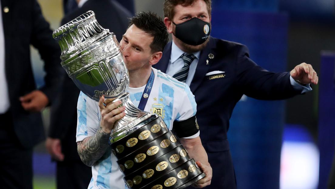 Messi rompe un récord histórico en Instagram con su foto junto a la Copa América