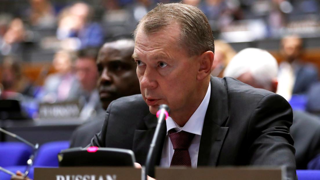 """Rusia denuncia la """"cortina de humo que resulta en desinformación"""" sustentada por la OPAQ en el informe sobre el caso Navalny"""