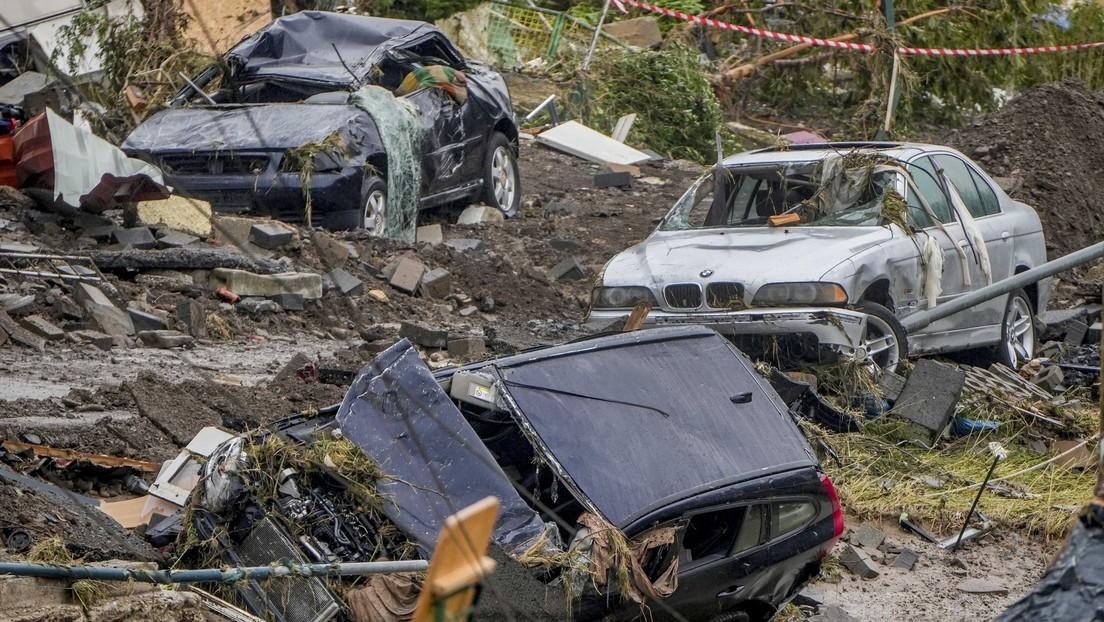 Ascienden a 143 los muertos a causa de las graves inundaciones en Alemania, mientras miles de personas siguen evacuadas por roturas de presas
